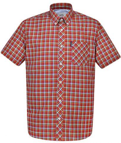 Ben Sherman Red Check Shirt
