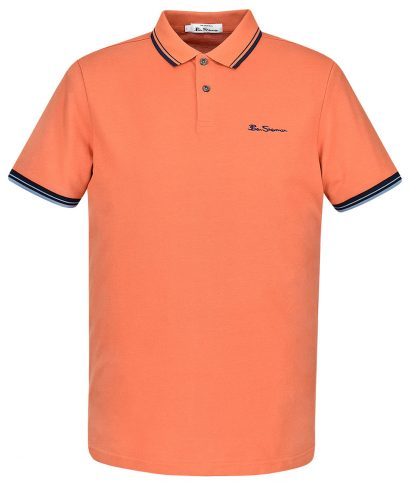 Ben Sherman Sunblush Signature Tipped Polo Shirt