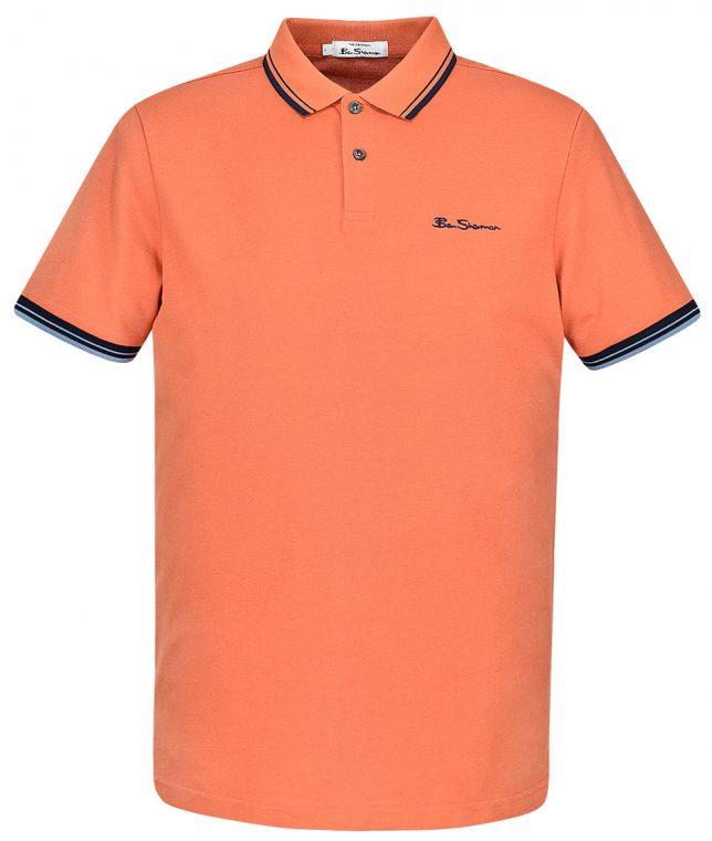 Ben Sherman Sunblush Signature Tipped Polo Shirt