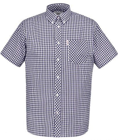 Brutus Navy & White Gingham Shirt