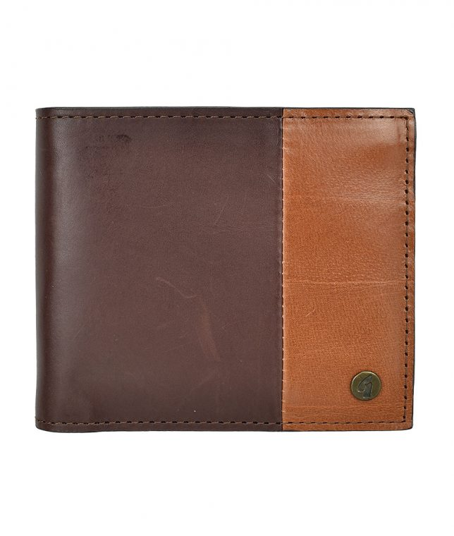 Gabicci Vintage Brown Leather Cardholder Wallet