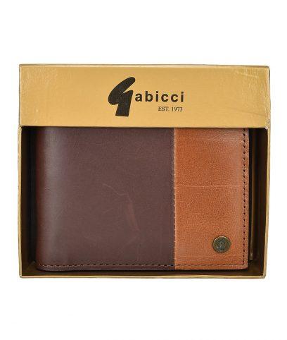 Gabicci Vintage Brown Leather Cardholder Wallet