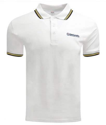 Lambretta Ecru Jamaica Triple Tipped Polo Shirt