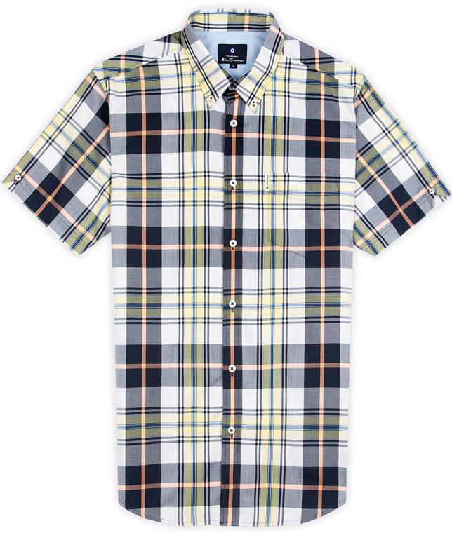 Ben Sherman Lemon Check Shirt