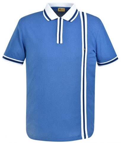 Gabicci Vintage Cologne Cambridge Stripe Polo Shirt