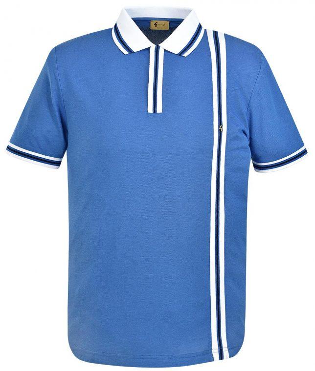 Gabicci Vintage Cologne Cambridge Stripe Polo Shirt