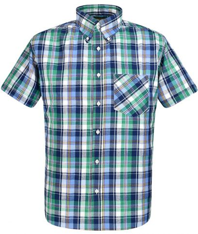 Real Hoxton Green 5191 Check Shirt