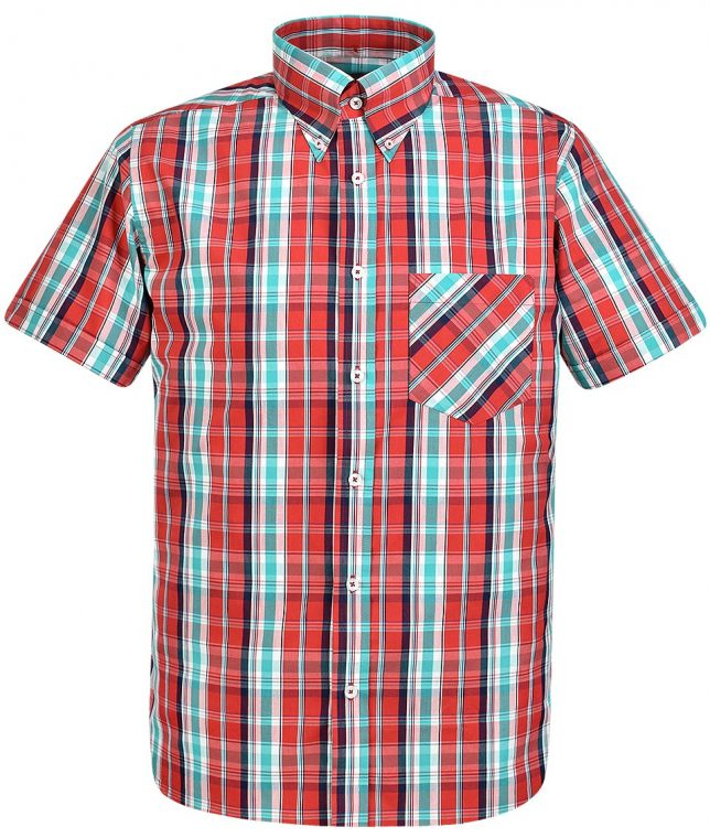 Real Hoxton Red 5194 Check Shirt