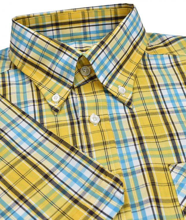 Art Gallery Yellow Gardiner Check Shirt