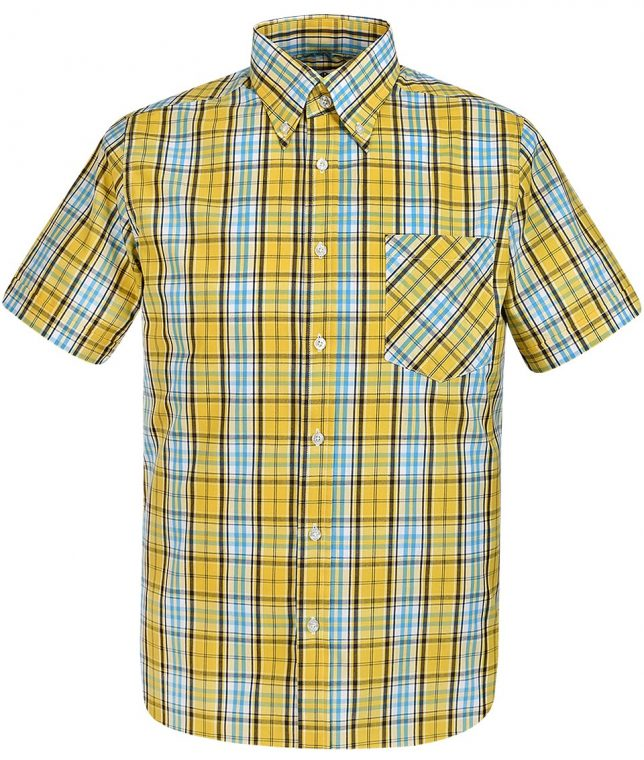 Art Gallery Yellow Gardiner Check Shirt