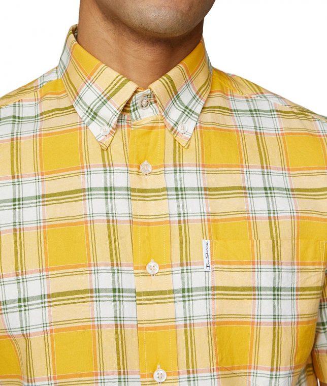Ben Sherman Dijon Archive Melody Check Shirt