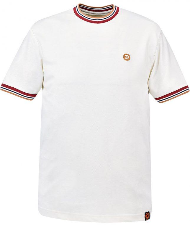 Trojan Records Ecru Plain T-Shirt