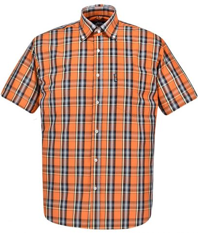 Trojan Records Orange Check Shirt