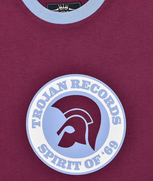 Trojan Records Port Spirit Of 69 Helmet T-Shirt