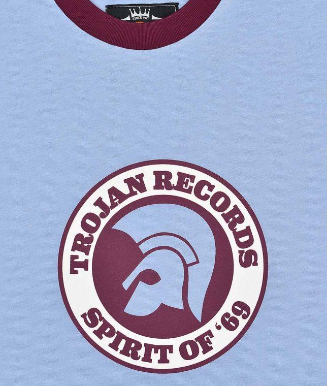 Trojan Records Sky Spirit Of 69 Helmet T-Shirt