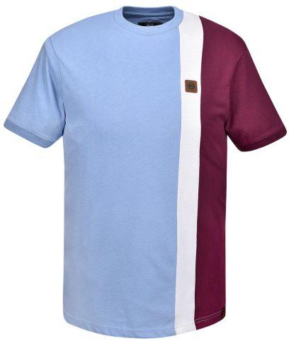 Trojan Records Sky Stripe Panel T-Shirt