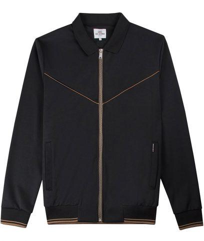 Ben Sherman Black Tricot Track Top Jacket