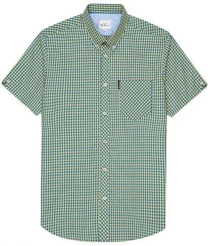Ben Sherman Yellow Gingham Shirt