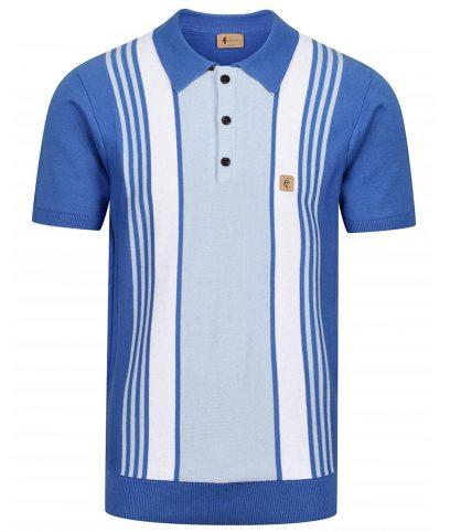 Gabicci Vintage Carolina Searle Stripe Polo Shirt