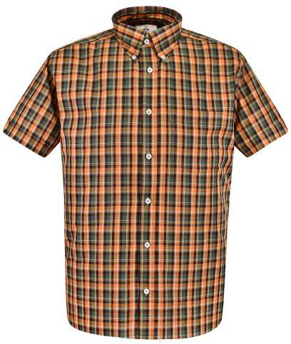Real Hoxton Honey 5314 Check Shirt