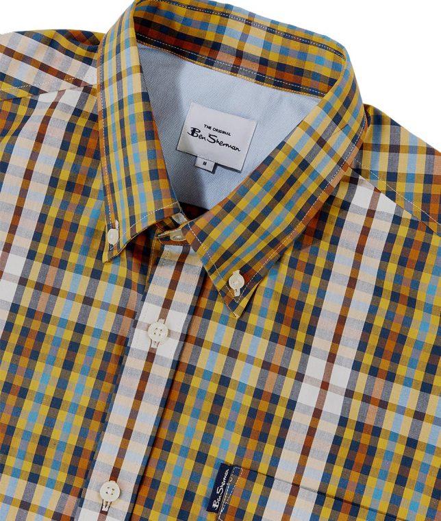 Ben Sherman Dijon Linear Check Shirt