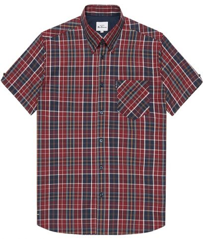 Ben Sherman Red Tartan Check Shirt