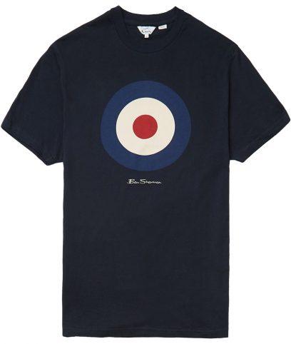 Ben Sherman Navy Mod Target T-Shirt