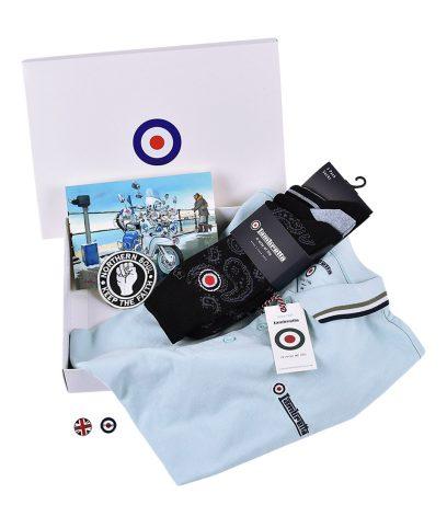 Lambretta Cool Blue Polo Gift Box